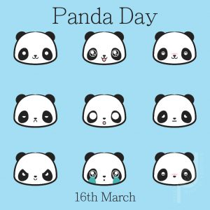 16th March: Panda Day